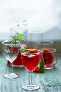 Blood Orange Gin Cocktail Drink