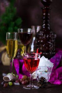 Homemade Grapes Wine