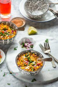Ghugni (Dried Yellow Peas Curry)