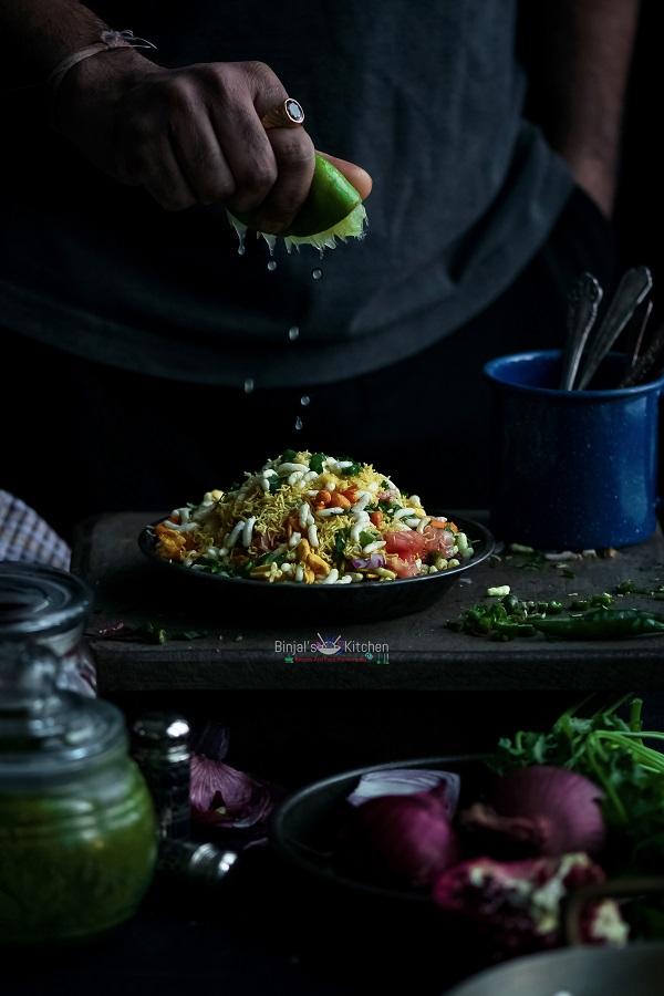 Bombay Chowpatty Style Bhel Puri