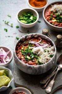 Chipotle vegetarian Bean Chili