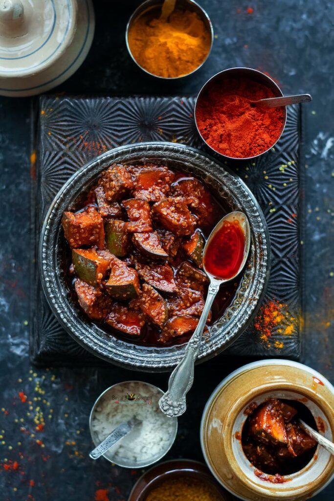 Gujarati Mango Pickle