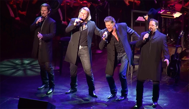 The Hoff and The Texas Tenors