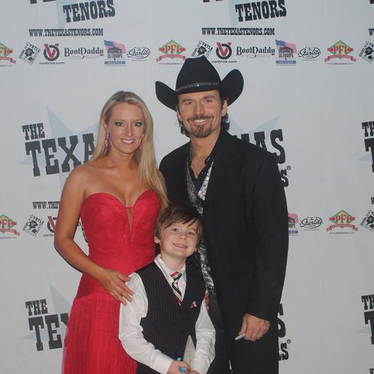 JC & Jen Fisher with their son Jacskon