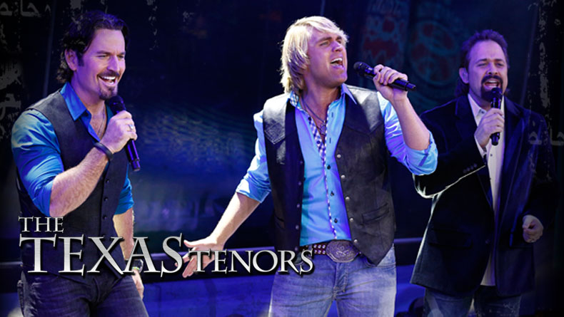 The Texas Tenors, February 12 – Adler Theatre, Davenport IA