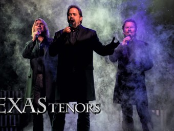 The Texas Tenors this weekend at the Mary B. Martin Auditorium