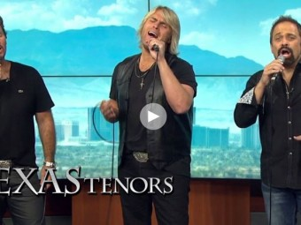 VIDEO: The Texas Tenors to perform for two nights at Bally's
