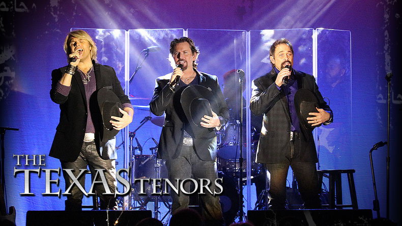 The Texas Tenors brings cowboy charm, country flair, and classics to the CCPA on Friday, April 19, 2019