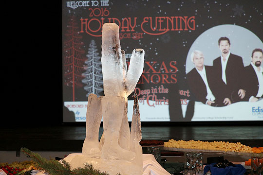 Edison State Community College held its 19th annual Holiday Evening on Wednesday, Dec. 7, to help raise money for student scholarships.