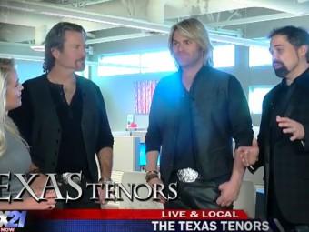 VIDEO:  The Texas Tenors on FOX21 Morning News