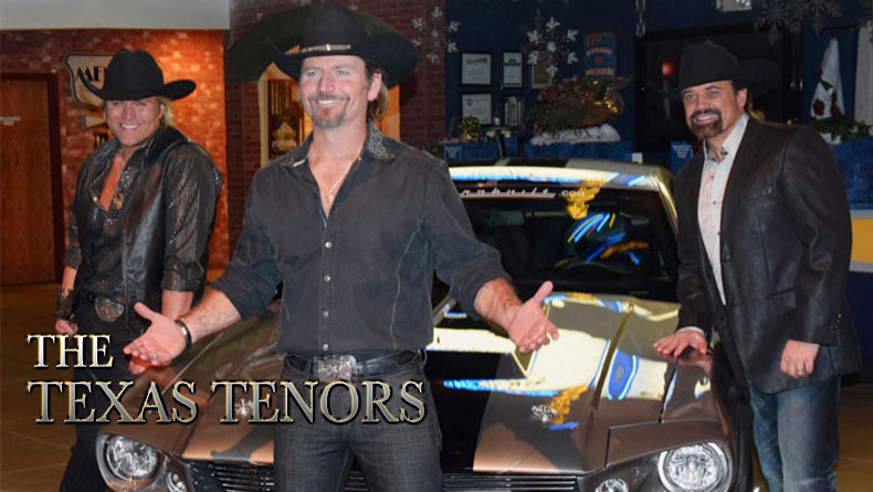 JC Fisher of The Texas Tenors is bringing his muscle car to SEMA in Las Vegas