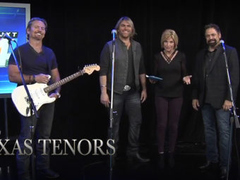 The Texas Tenors stop by WJXT in Jacksonville