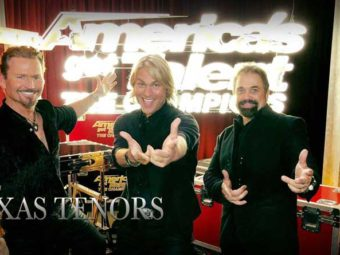 The Texas Tenors perform on America's Got Talent: The Champions