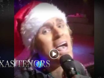 VIDEO: Marcus' Video Selfie from the audience – Deep in the Heart of Christmas TOUR