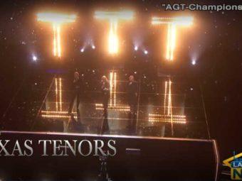 VIDEO: The Texas Tenors return to America's Got Talent