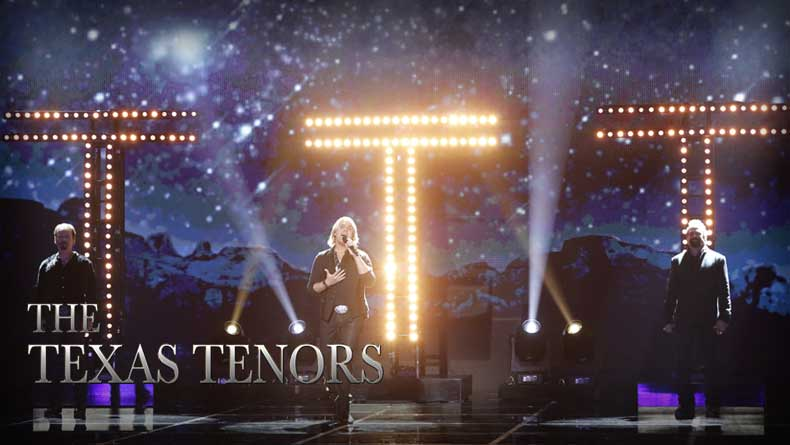 The Texas Tenors Give Moving Performance Of 'Unchained Melody' On 'America's Got Talent': Watch