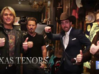 Video: Rocking Out with The Texas Tenors