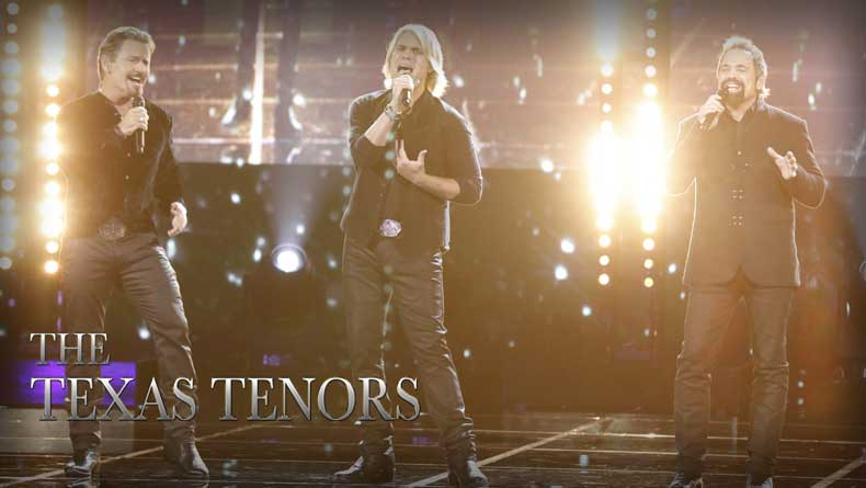 The Texas Tenors, True Champions – Monday on NBC