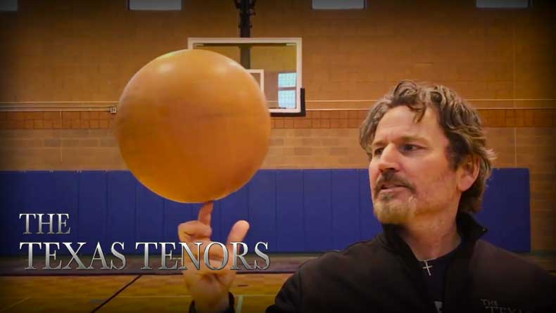 VIDEO: The Texas Tenors Ballers?