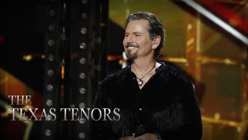 JC Fisher hits high note after appearing on America's Got Talent in The Texas Tenors