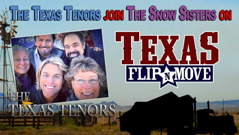 The Texas Tenors are in Flip'N Re-Runs!