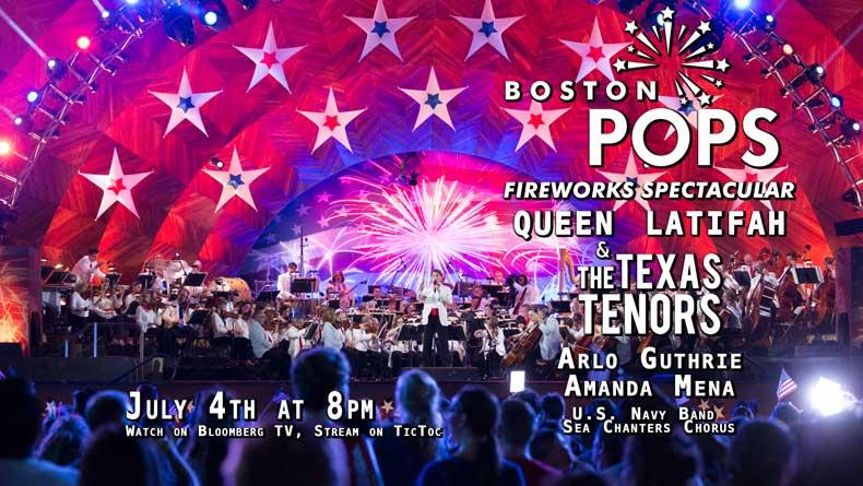 Queen Latifah to headline Boston Pops' July 4 show
