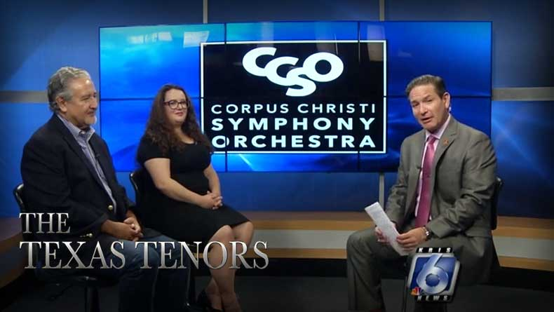 The Texas Tenors will appear with symphony Saturday night