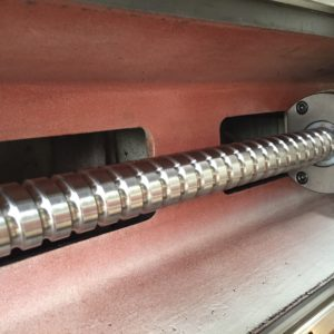 After: CBR ball screw service keeps your ball screws running in peak condition.