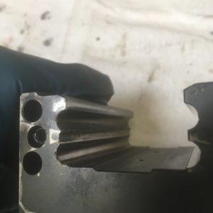 Mitsubishi LZP laser ball screw