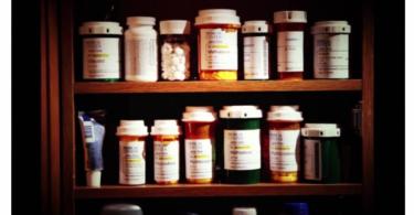 oxycodone medicine cabinet