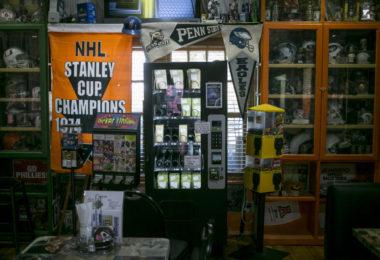 TUCSON, ARIZONA - May 10, 2017: A kratom vending machine dispenses
