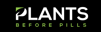 Plants before pills logo