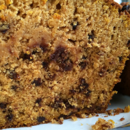 GlutenFree & DairyFree Pumpkin Chocolate Chip Bread