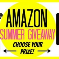 Amazon Summer Giveaway:  Weber Grill or Gift Card  (retail value $280.00)