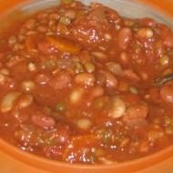 Vegan Slow Cooker 15 Bean Soup