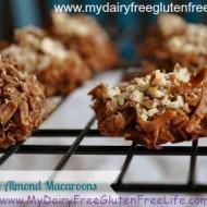 Dairy & Gluten Free Chocolate Almond Macaroon