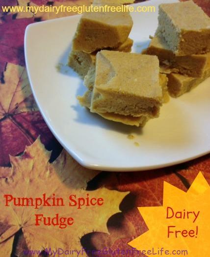 Pumpkin Spice Fudge Recipe
