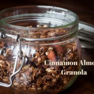 Cinnamon Almond Granola Recipe