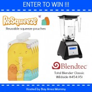 Blendtec Giveaway with ReSqueeze pouches