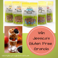 Jessica's Natural Foods Gluten-Free Granola Giveaway