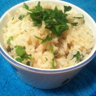 Chipotle's Knock Off Cilantro Lime Brown Rice