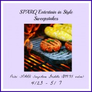 Win Soapstone Griddle .@SPARQ Entertain in Style Giveaway $99.95 rv