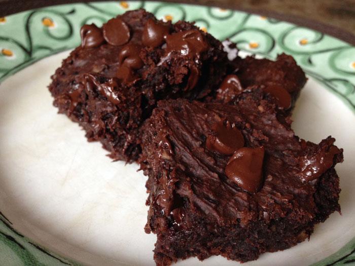 Vegan Flour-less Black Bean Brownies
