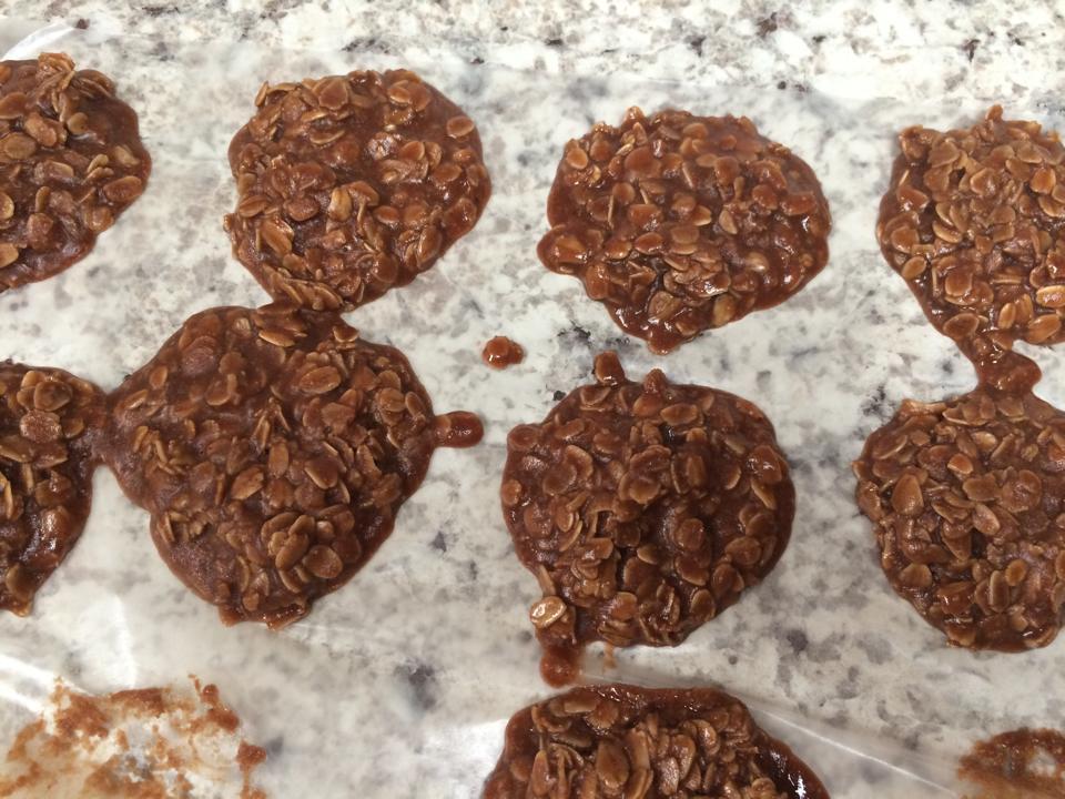 Gluten-Free, Dairy-Free & Nut-Free No Bake Chocolate Cookies