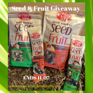Enjoy Life Not Nuts! Seed and Fruit Giveaway