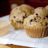 Chocolate Chip Oat Muffins Gluten Free Dairy Free