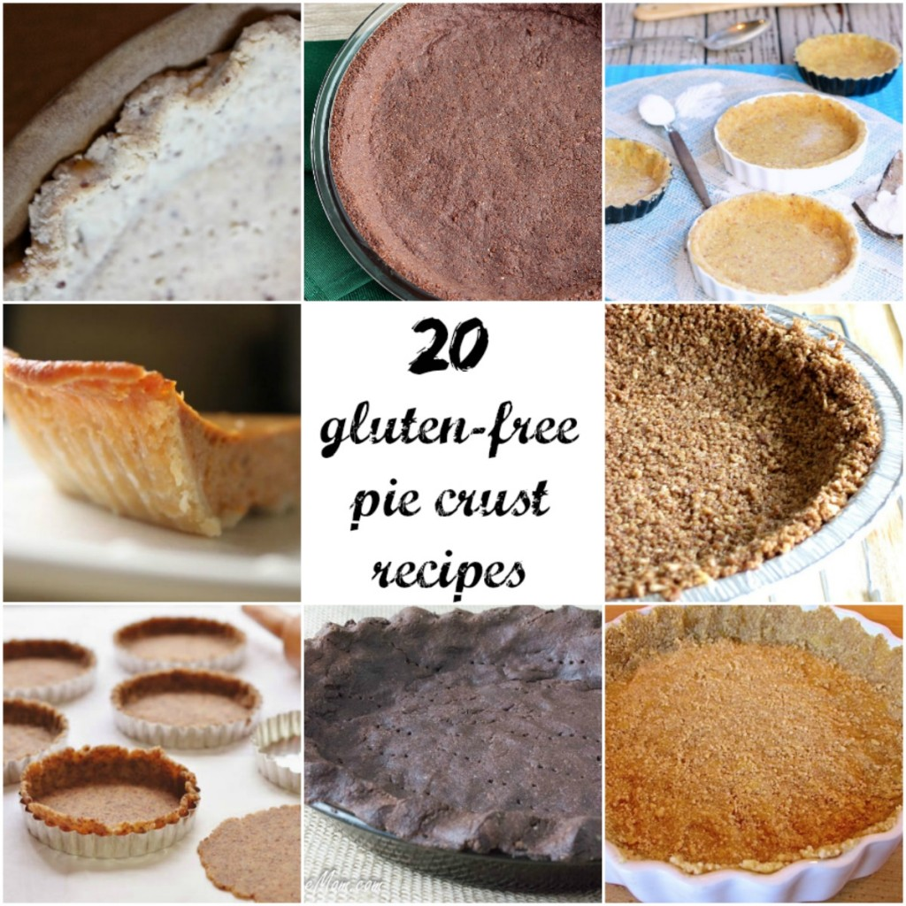 20 Dairy and Gluten Free Pie Crust Recipes
