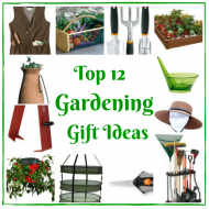 Top 12 Gardening Gift Ideas for Earth Day, Mother's Day or just because!