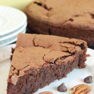 Chocolate Pecan Flourless Cake Recipe