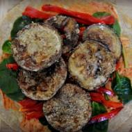 Crispy Eggplant and Roasted Pepper Wrap Recipe